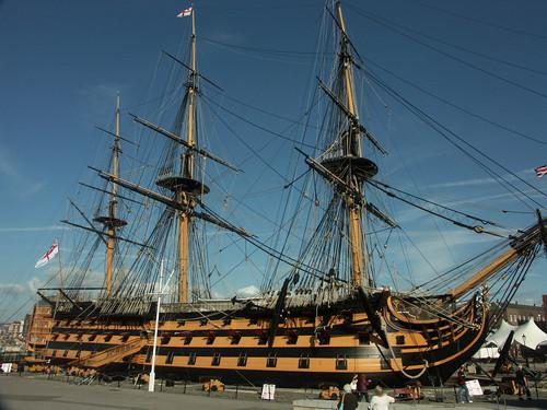 ポーツマス (3) ~ 王立海軍博物館(2) ネルソン提督 戦列艦ヴィクトリー ~: 0830thのブログ